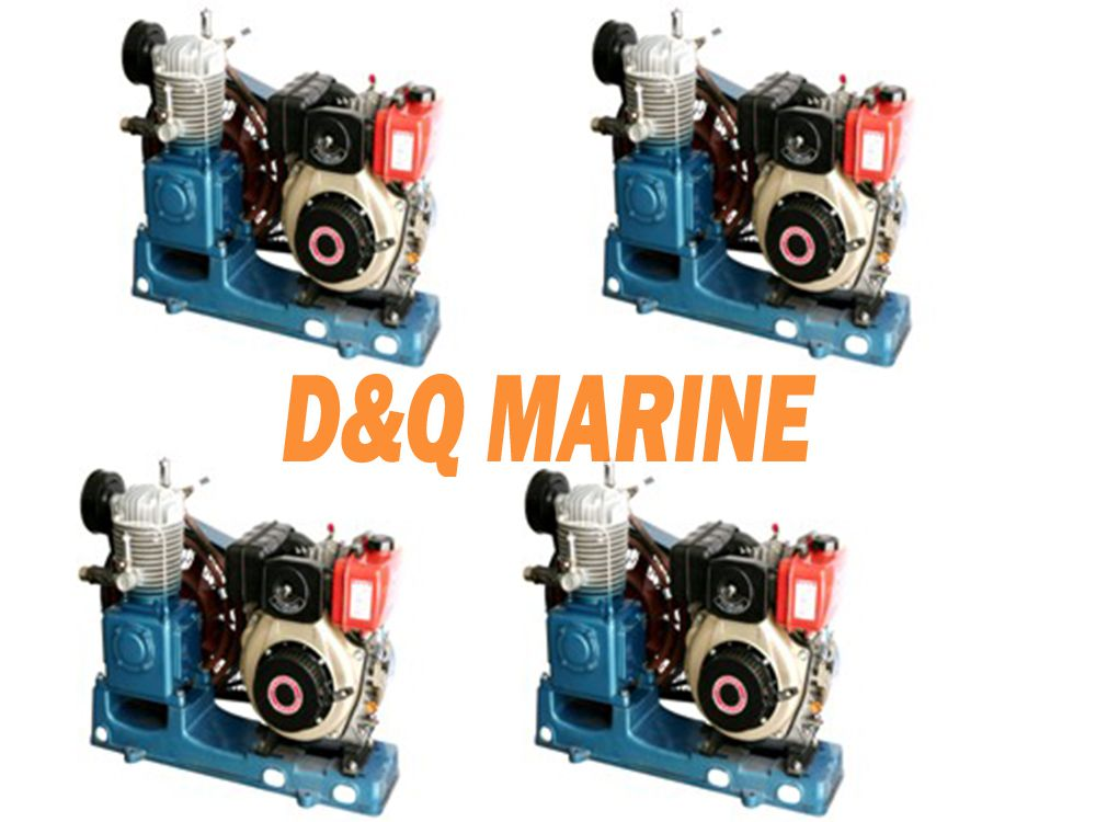 2ZFC-0.34/30-B Marine emergency air compressor