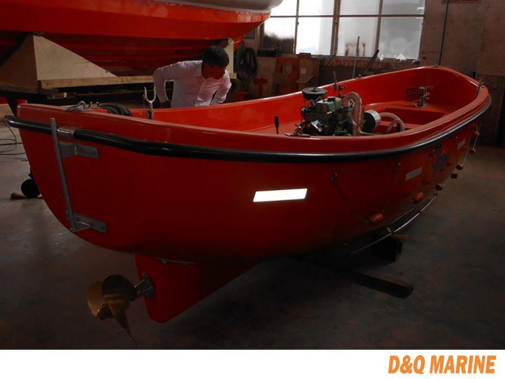 5.5 Meter GRP Open Type Lifeboat