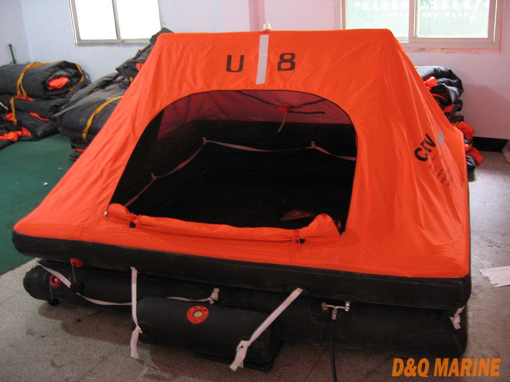 8 Persons Yacht Inflatable Life Raft