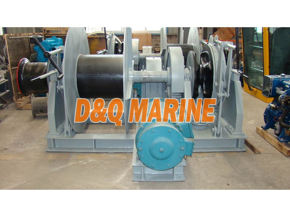 Electric combined windlass for 28mm chain