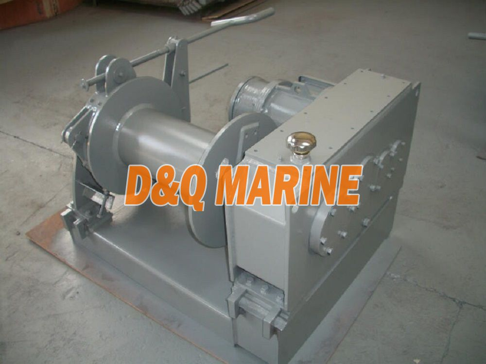 Electric winch with 4.5kn pull