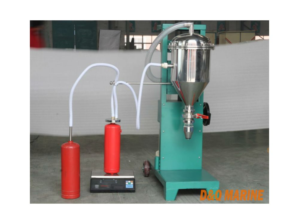GFM16-1 Model Semi Automatic Dry Powder Fire Extinguisher Filling Machine