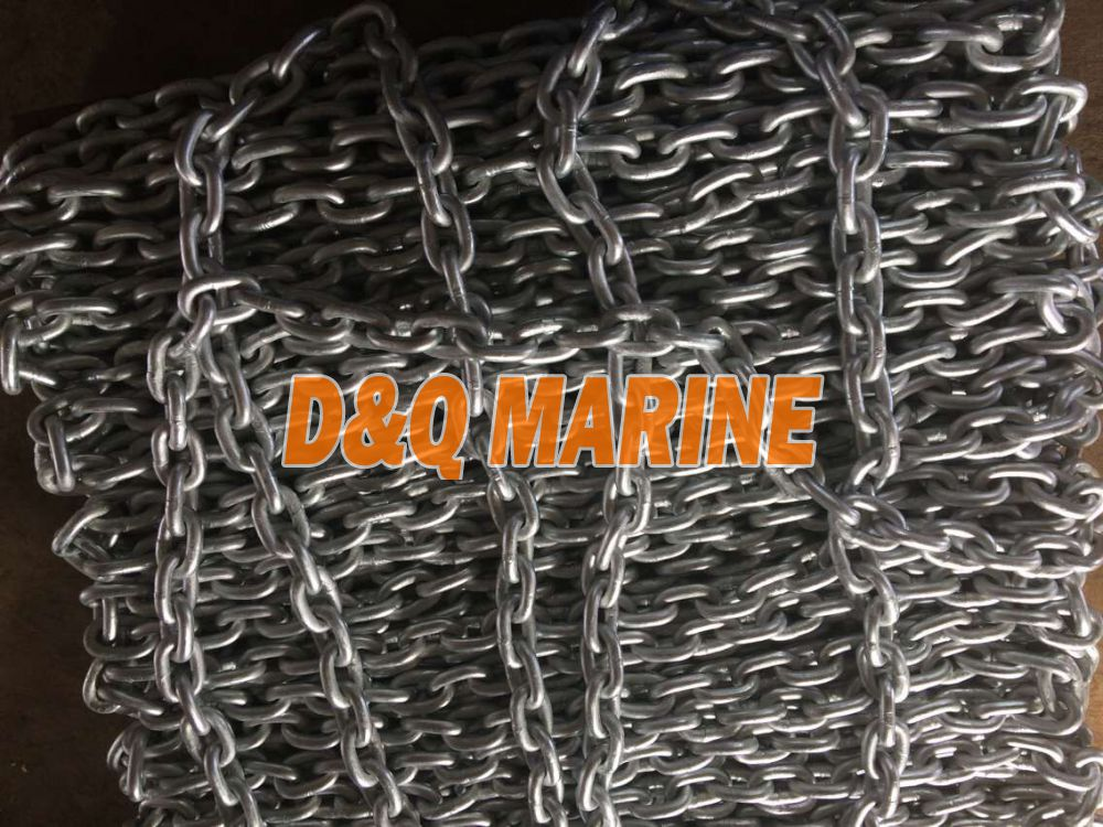 Grade 2 16mm Hot Dip Galvanized Stud Link Anchor Chain