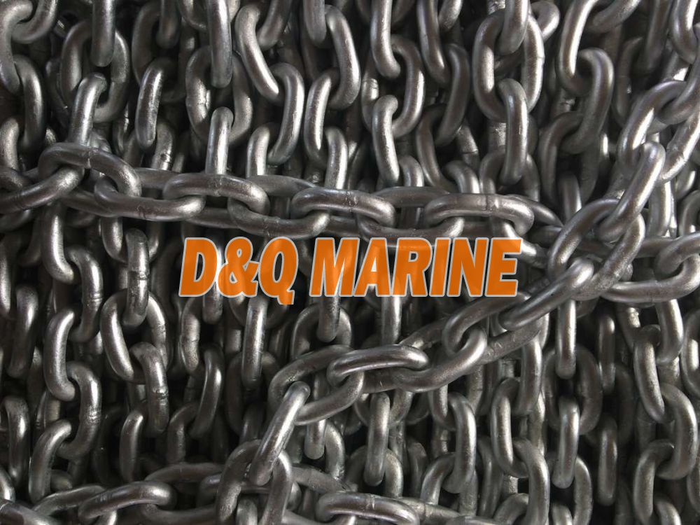 Grade 2 17.5mm Hot Dip Galvanized Stud Link Anchor Chain