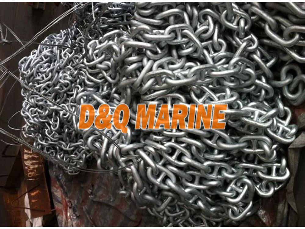 Grade 2 26mm Hot Dip Galvanized Stud Link Anchor Chain