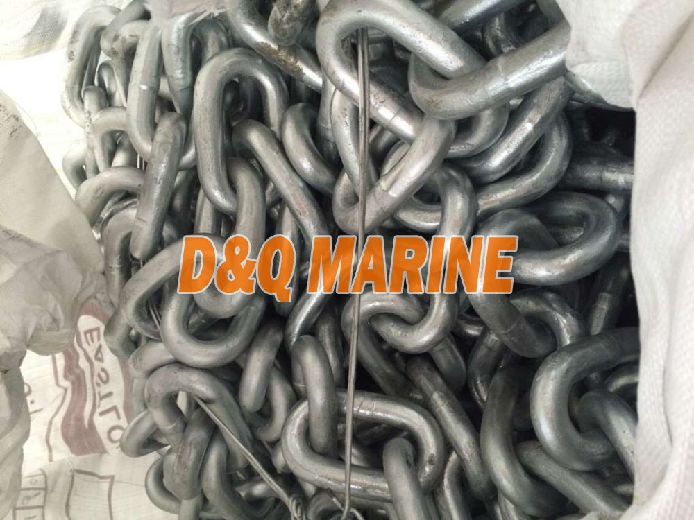 Grade 2 30mm Hot Dip Galvanized Stud Link Anchor Chain