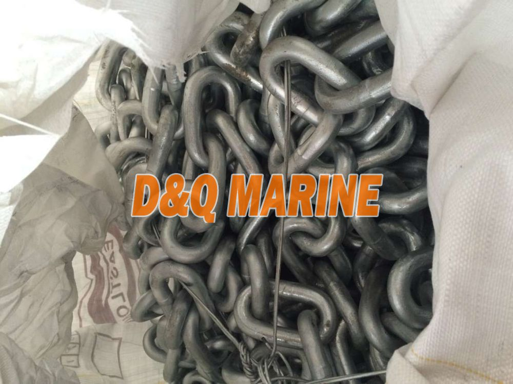 Grade 2 32mm Hot Dip Galvanized Stud Link Anchor Chain