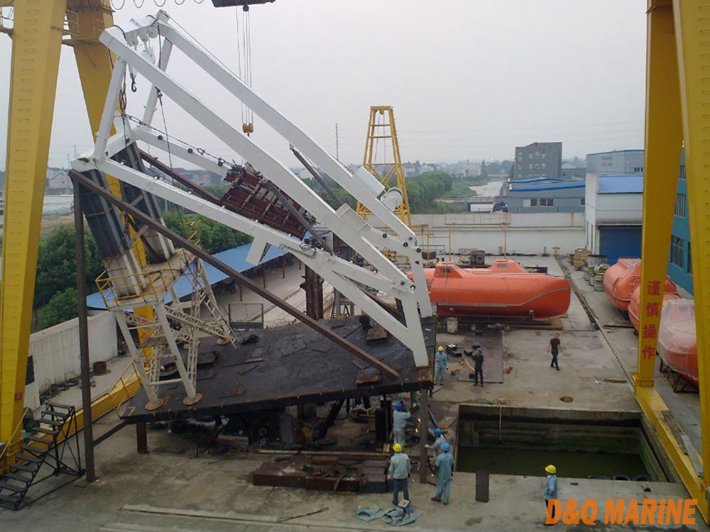 Launching Appliance Of Free Fall Lifeboat