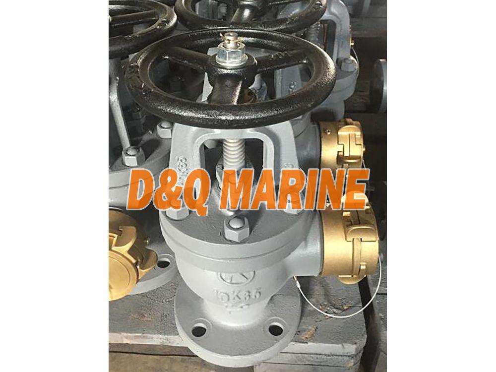 Marine Cast Iron Angle Hose Valve JIS F7333B