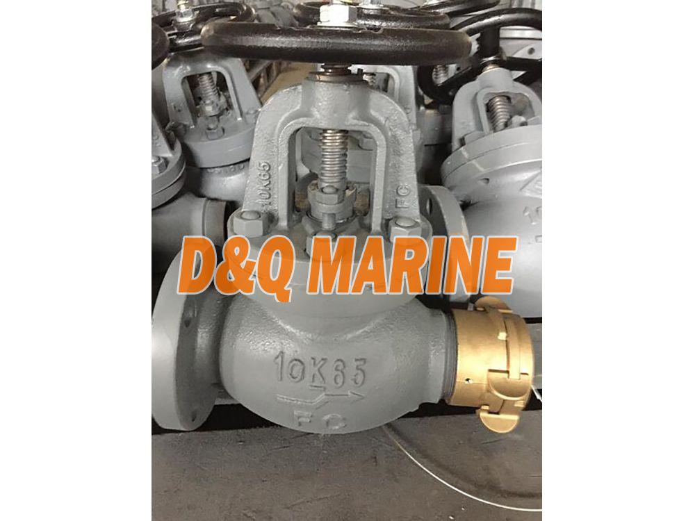 Marine Cast Iron Globe Hose Valve JIS F7333A