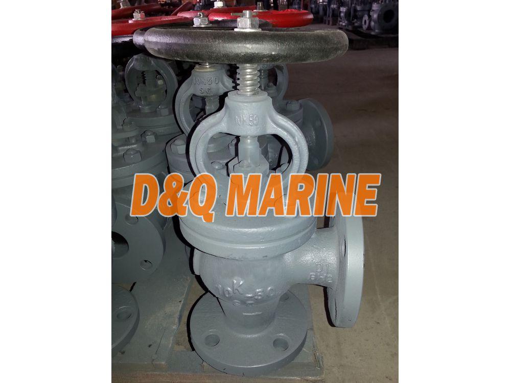 Marine Cast Steel 10K Angle Valve JIS F7320