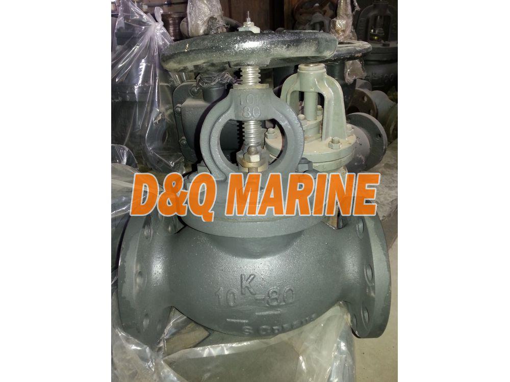 Marine Cast Steel 10K Globe Valve JIS F7319