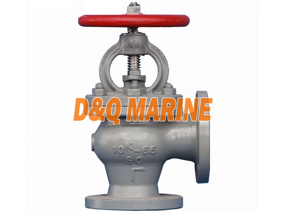 Marine Cast Steel 10K Screw Down Check Angle Valve JIS F7472