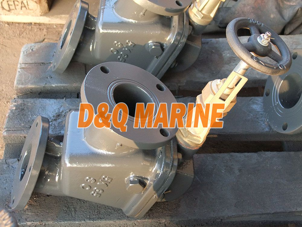 Marine Cast Steel 5K Angle Storm Valve JIS F3060R