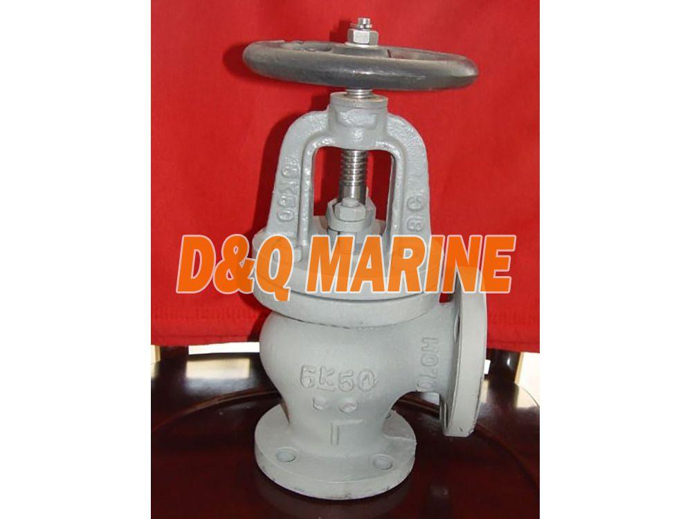 Marine Cast Steel 5K Angle Valve JIS F7312