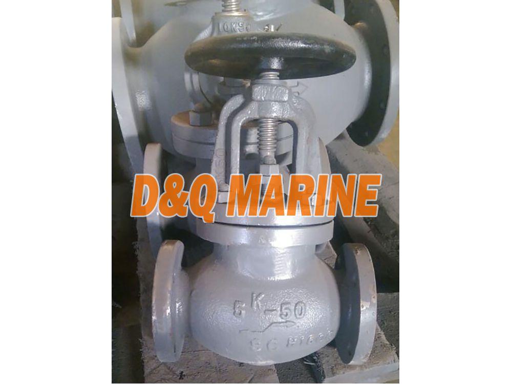 Marine Cast Steel 5K Globe Valve JIS F7311