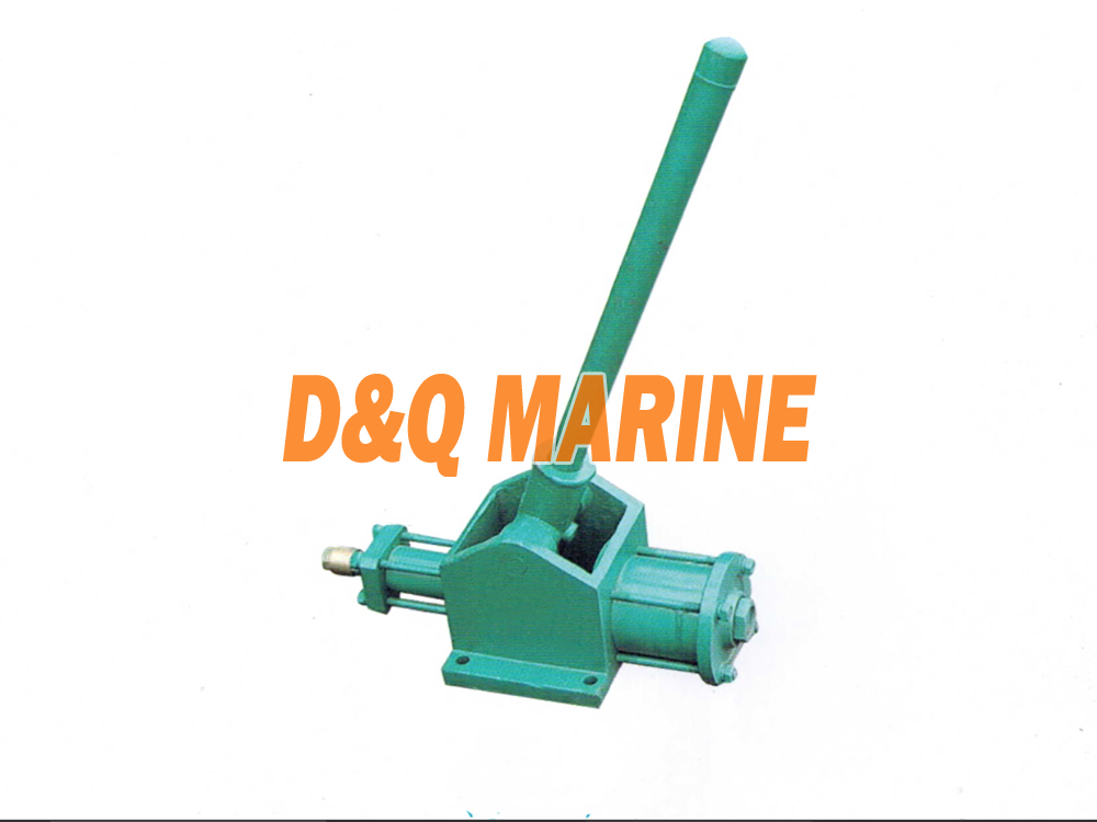 Marine Manually Operated Portable Emergency Hand Operated Air Compressor