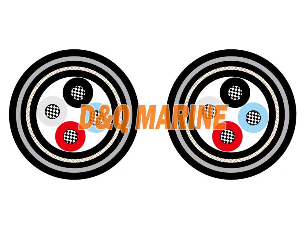 NEK 606 P6 or P6/P13 BFOU 3.6/6kV Marine Cable