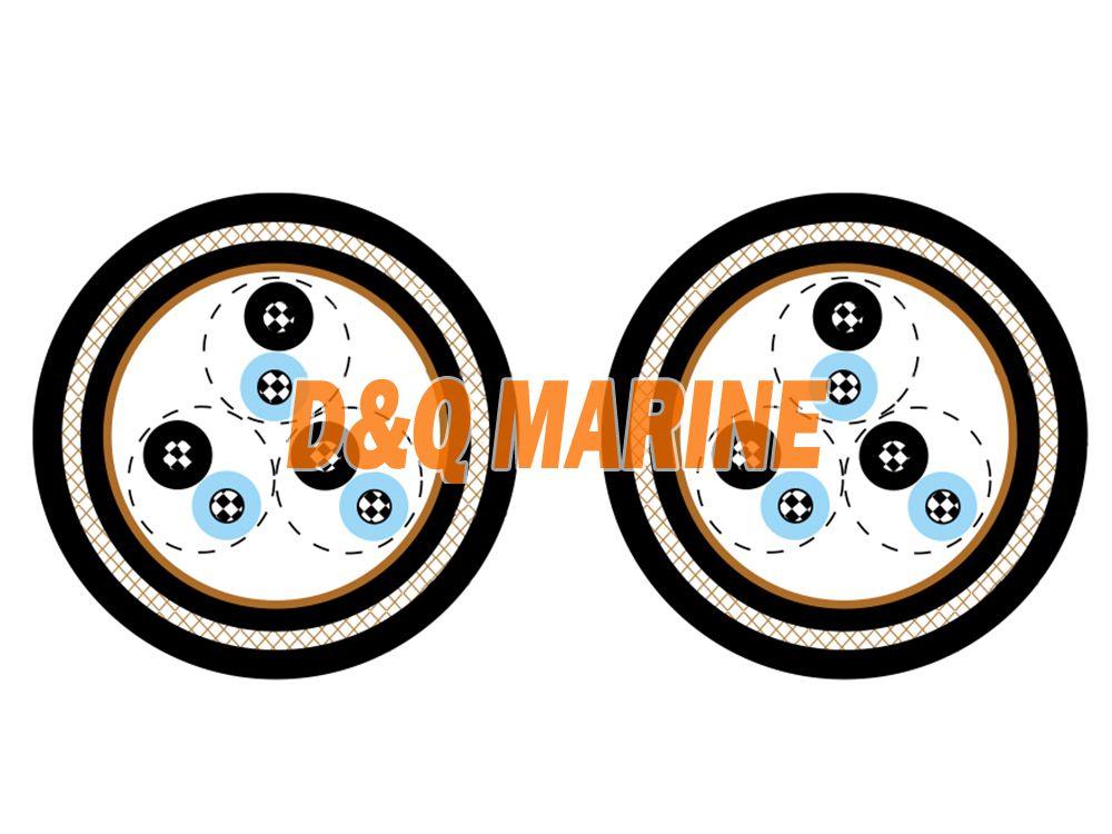 NEK 606 S4 or S4/S8 BFOU(c) 250V Marine Cable