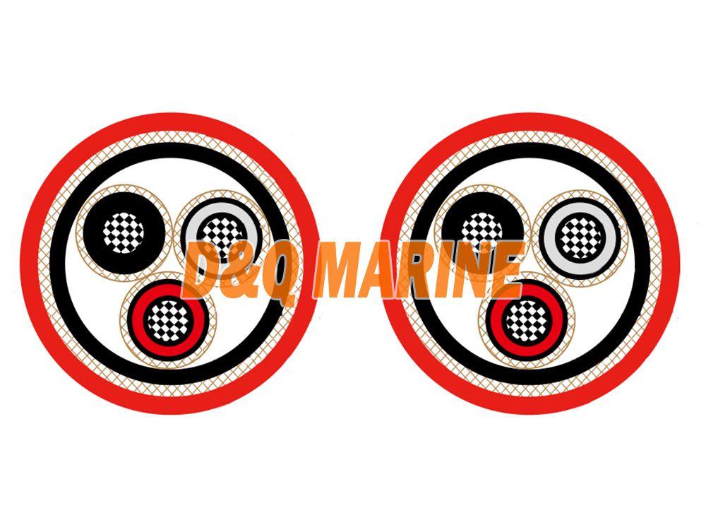 NEK606 Medium Voltage Power Cables P2 or P2/P9 RFOU/TFOU 3.6/6KV