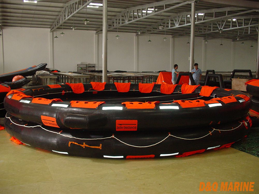Open Reversible Inflatable Liferafts