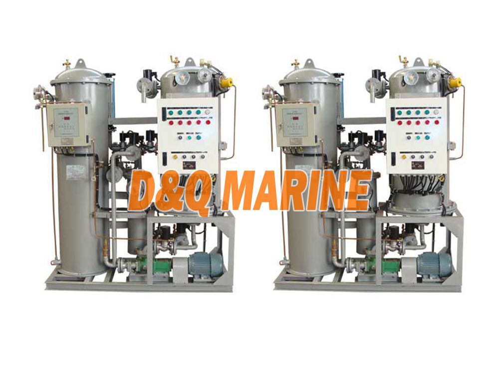 ZYFM-1.5m3 Bilge oily water separator industrial waste water separator