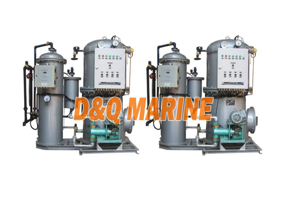 ZYFM-2.0m3 Bilge oily water separator industrial waste water separator