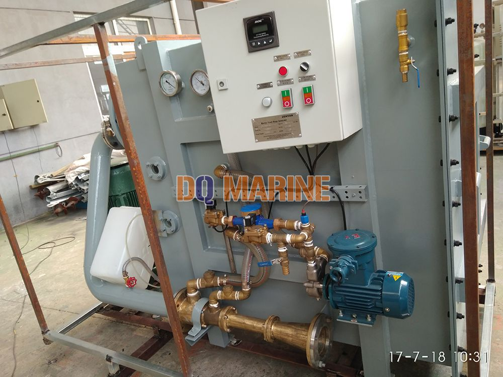 10 Tons Per Day Fresh Water Generator For Marine Applications