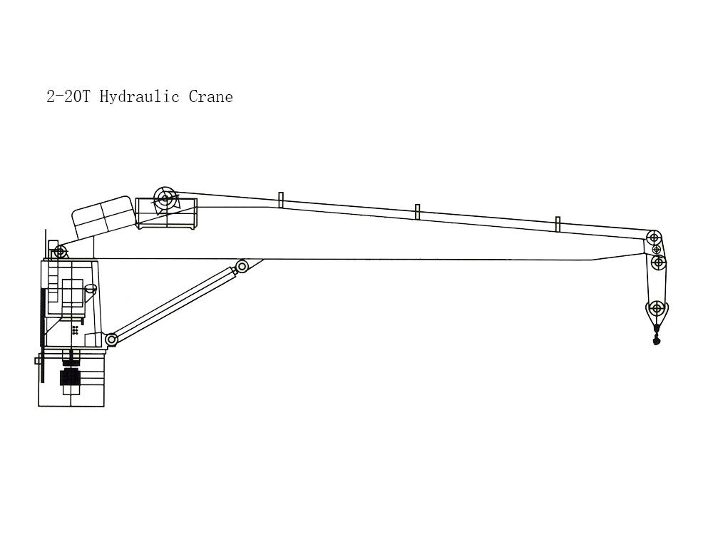 10T Hydraulic Crane
