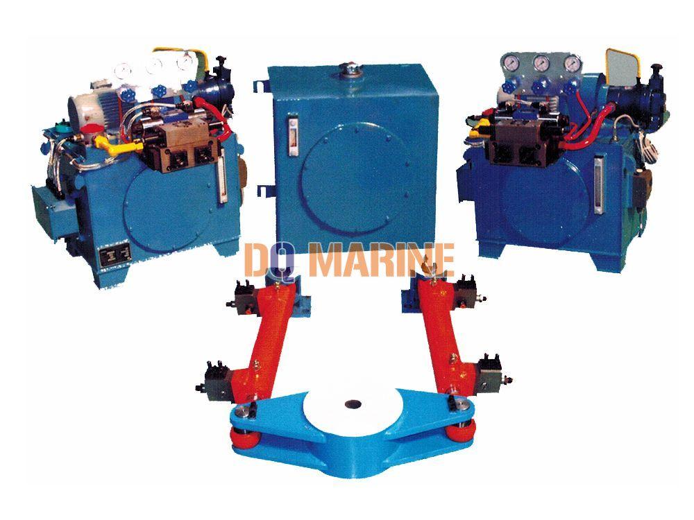 300Kn.m swing type electro-hydraulic steering gear