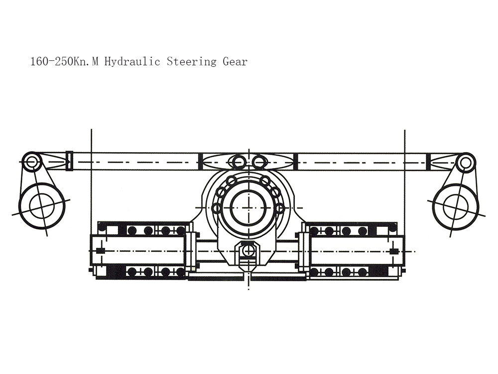 200KN.M Hydraulic Steering Gear