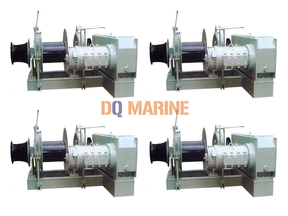 34mm Single electric combinded windlass