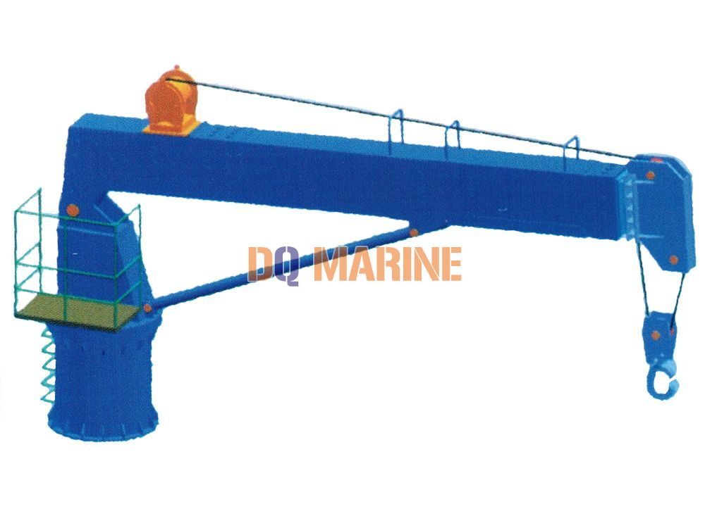 3T Marine Telescopic Boom Crane