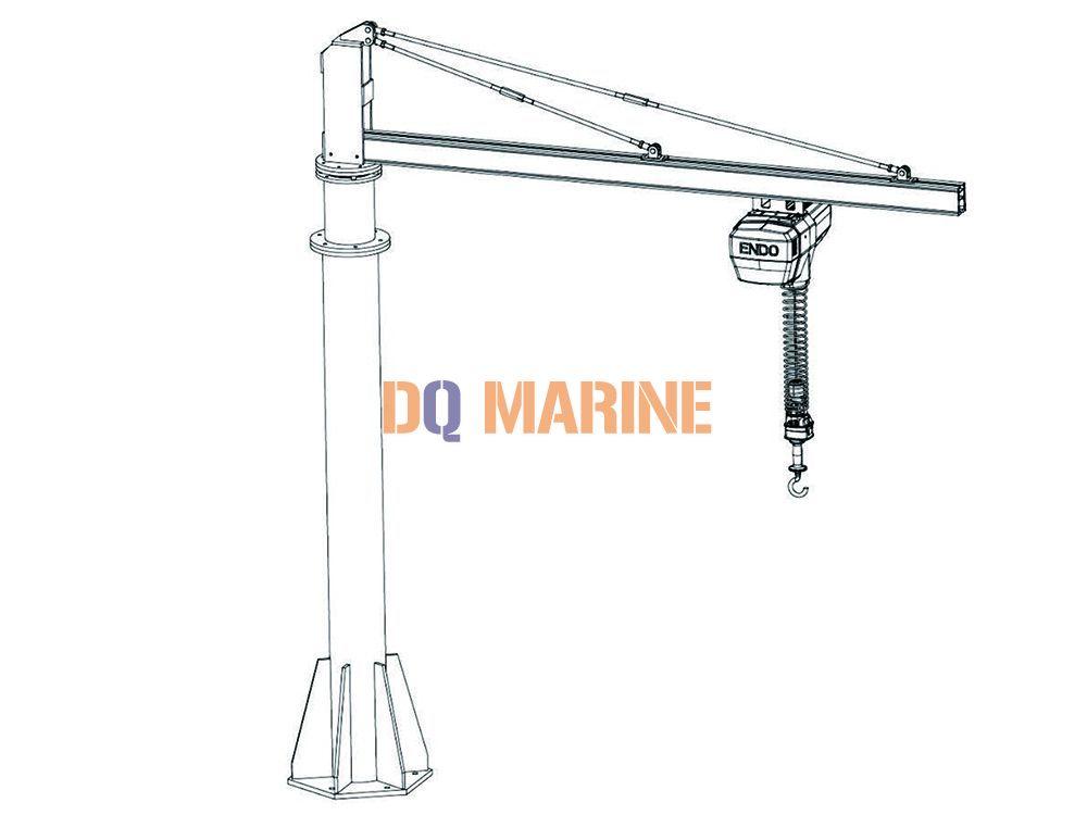 4m×4m Cantilever crane