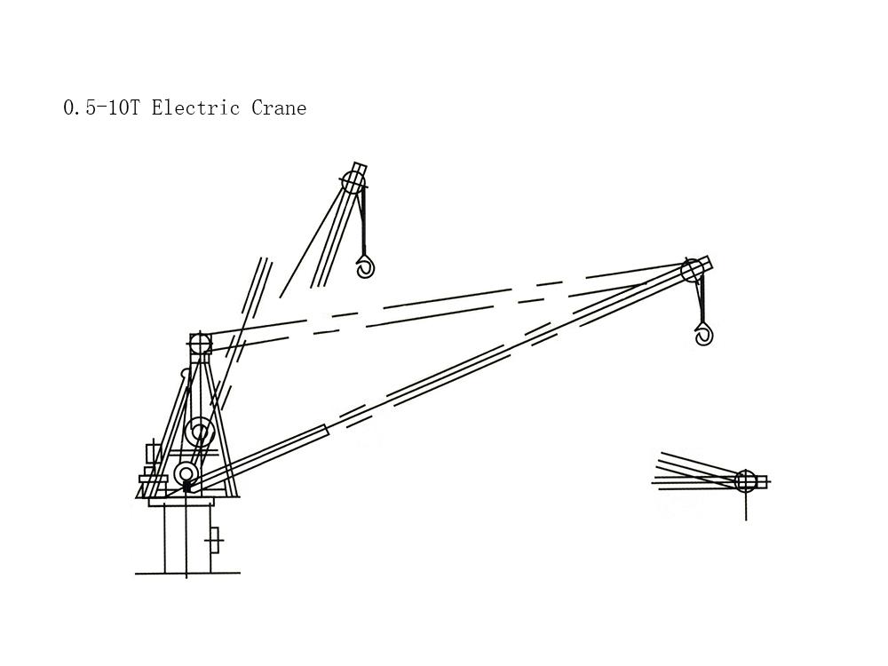 5T Electric Crane