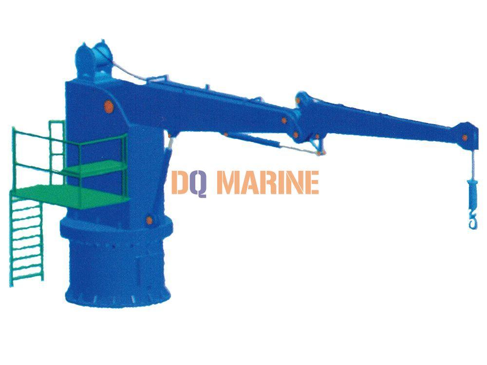 5T Marine Knuckle Boom Crane