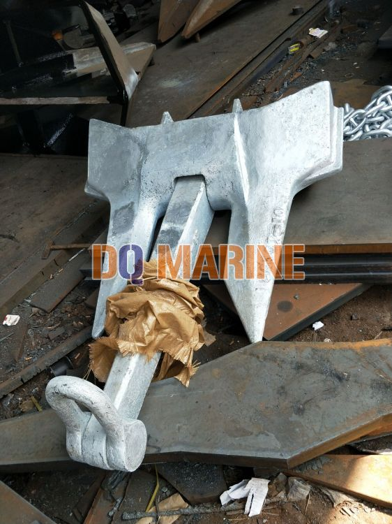 995KGS Hot Dip Galvanized AC-14 HHP Anchor