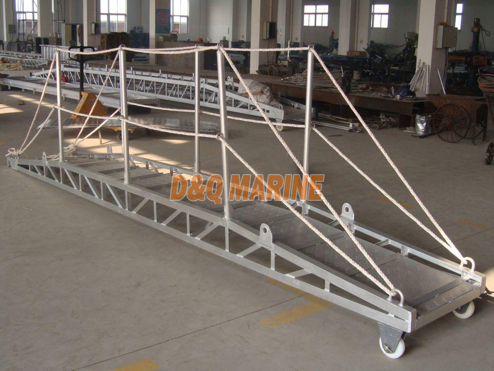 Aluminium Alloy Wharf Ladder