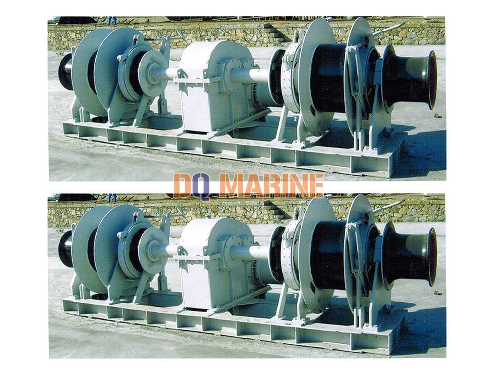 109Kn Hydraulic Mooring Winch