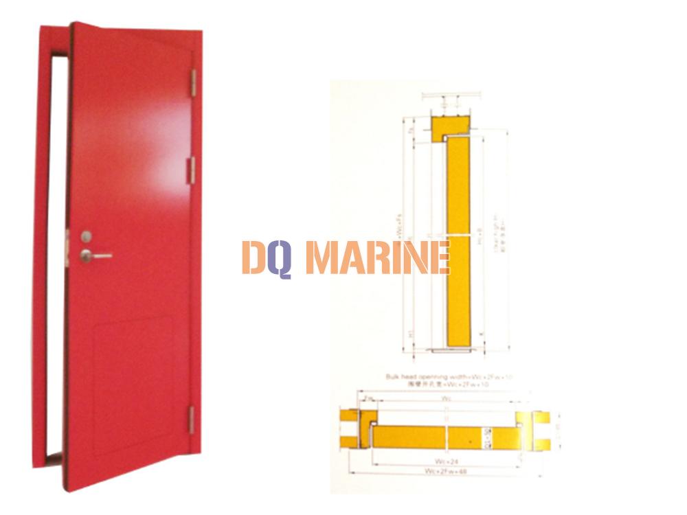 B-15 Single Open High Acoustic Fireproof Door