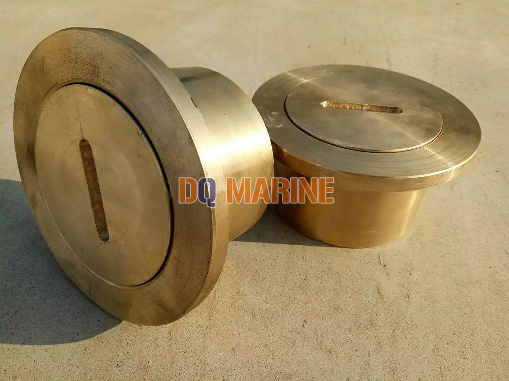 Brass Flush Sounding Pipe Head