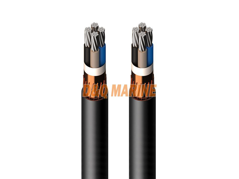 CHEF8F DA EPR insulated shipboard symmetrical communication cable