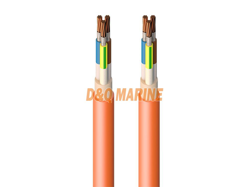 CHJ8292 SA XLPE insulated shipboard symmetrical communication cable Type SA