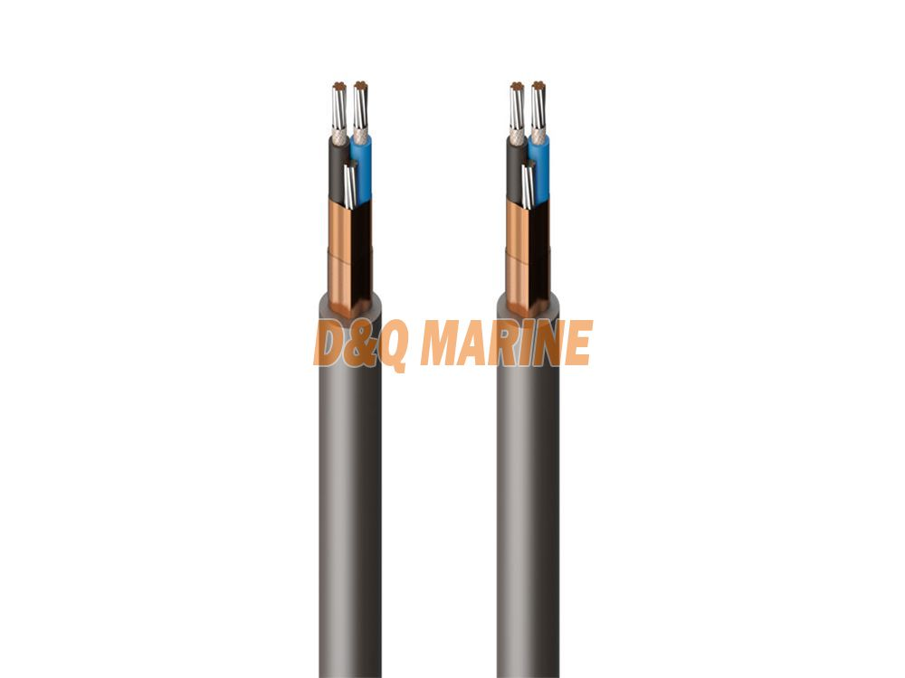 CHJPF86 NSC XLPE insulated PO inner sheathed fire resisting symmetrical communication cable