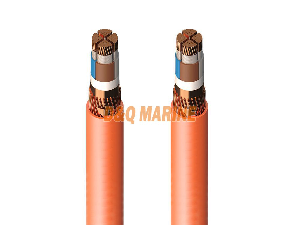 CHJPFP85 NSC XLPE insulated separately screen symmetrical communication cable