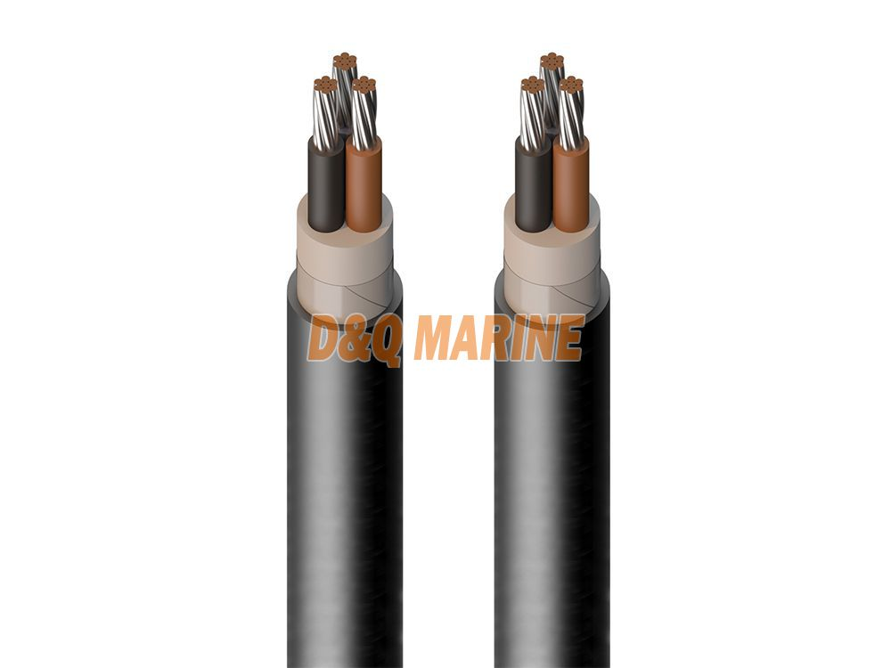 CHJV80 SA XLPE insulated shipboard symmetrical communication cable