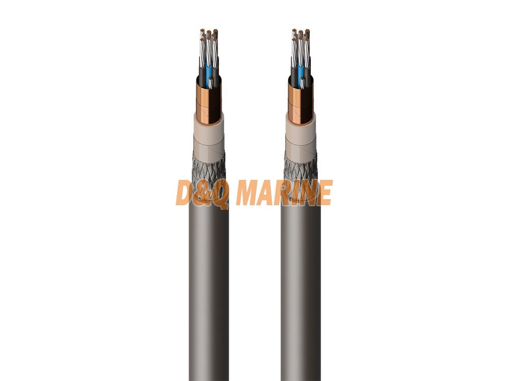 CKJPFP80 SC tinned copper wire braided flame retardant shipboard control cable