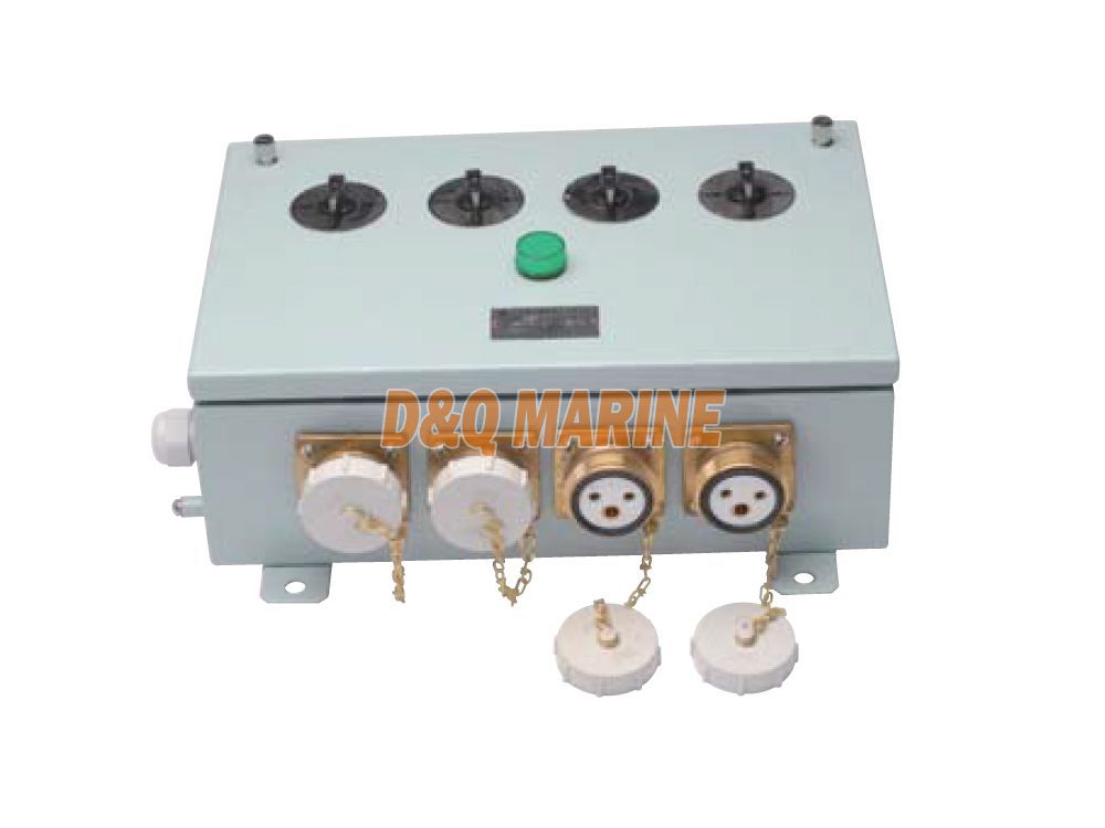 CZXH-4SD Marine Socket Box With Switch For Cargo Hold Lighting