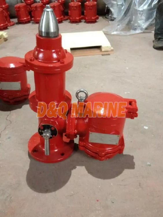 DF-ISO Cast Steel High Velocity Pressure Vacuum Valve with Gas Freeing Cover