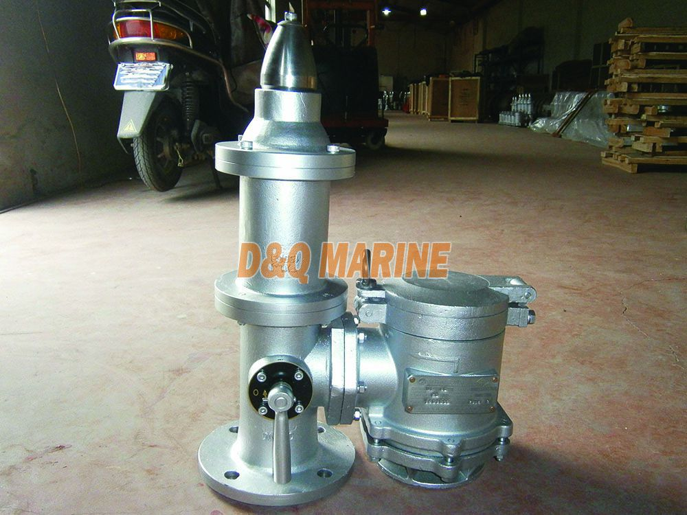 DF-ISO Stainless Steel High Velocity PV Valve with Gas Freeing Cover
